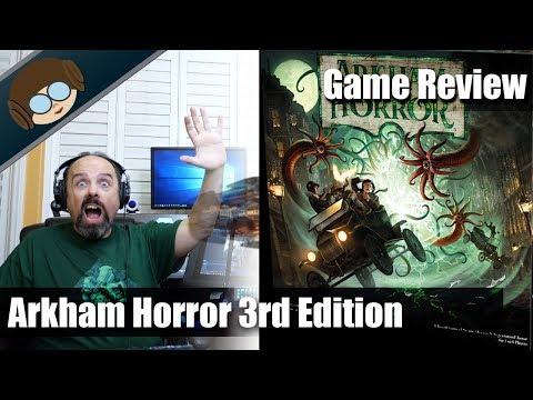 Arkham Horror 3rd Edition Reveiw - Delicious Torment?