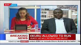 Ekuru Aukot allowed to run; Analysis
