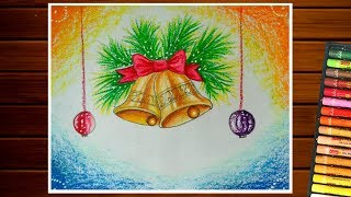 Drawing Of Christmas Bells ฟร ว ด โอออนไลน ด ท ว ออนไลน คล ป