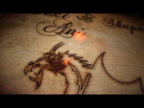 Burnt wood text effects and image animation – After Effects tutorial