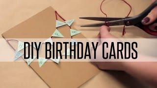 DIY BIRTHDAY CARDS