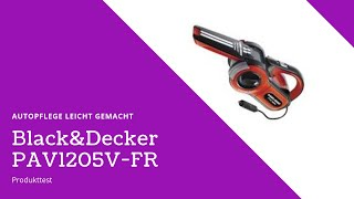 Black&Decker 12V Auto-Staubsauger | Klein aber Oho | Produkttest Black&Decker PAV1205V-FR