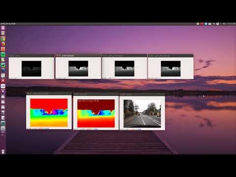 Real-time monocular depth estimation without GPU - смотреть