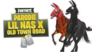 Lil Nas X   Old Town Road (Parodie Fortnite)