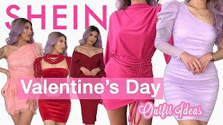 SHEIN HAUL | UNDER $20 VALENTINES DAY DRESSES + TRY ON!!