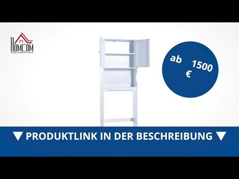 Homcom Überbauschrank Badregal Waschmaschinenschrank  - direkt kaufen! - Aosom.de