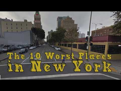 Video The 10 Worst Cities In New York Explained