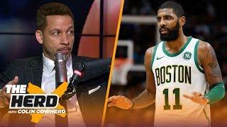 Chris Broussard on Kyrie Irving's future, Warriors vs Celtics & LeBron James | NBA | THE HERD