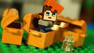 🐷 ДОМ в СУНДУКЕ ! НУБик против ДЕРЕВА Мультфильмы Лего Майнкрафт Мультики Видео для Детей