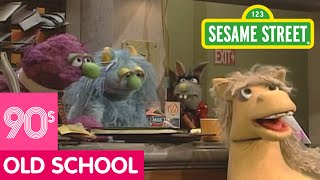 Sesame Street: Benny Makes Repairs To The Furry Arms