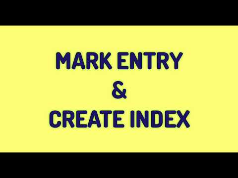 Download How To Use Mark Entry In Ms Word Create Index Entry