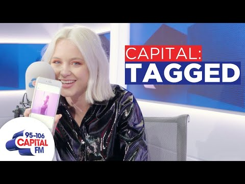 Zara Larsson Scrolls Through Photos You Tagged Her In   Capital