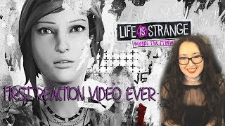 Reaction video | Trailer Before the Storm ( before playing it )Life is strange