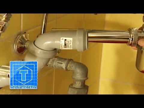 Abflussrohr verlegen - Tipps für den Einbau eines neuen Abflusses | ToolTown Heimwerken