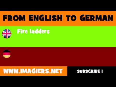 DEUTSCH   ENGLISCH  = Feuerleitern