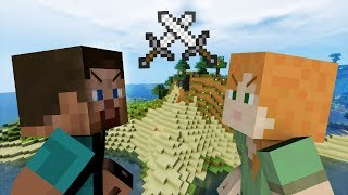Alex VS Steve - Minecraft PART 4
