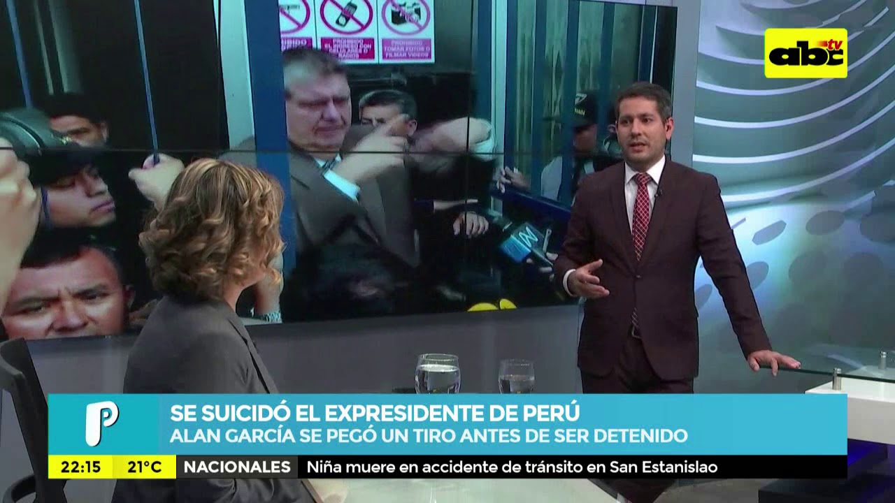 Se suicidó expresidente de Perú
