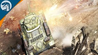 HUGE CITY/CASTLE ASSAULT | Company of Heroes 2 Campaign Gameplay 9