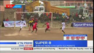 Kayole Asubuhi and Jericho FC settle for a goal a piece at Calvary grounds in Sportpesa Super 8