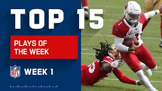 Top 15 Plays from Week 1 | NFL 2020 Highlights
