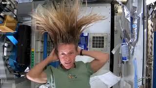 Как мыть голову в космосе?