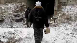 Вход в урановый рудник на горе Бык (Ставропольский край)