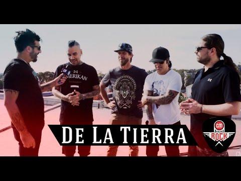 De La Tierra video Entrevista Argentina - Marzo 2017