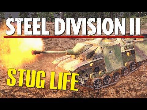 STUG LIFE! Steel Division 2 BETA Gameplay (Lyakhavichy, 4v4)