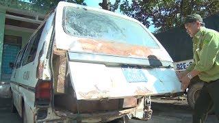 Tin Tức 24h: Quảng Nam bắt xe ô tô biển số xanh chở gỗ lậu
