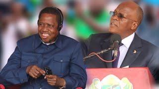"""MAGUFULI AMKATAA LAIVU MKALIMANI WA ZAMBIA - """"BWANA KAA PEMBENI"""""""