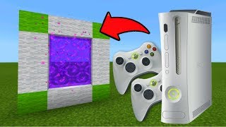 Minecraft Pe How To Make a Portal To The Xbox 360 Dimension - Mcpe Portal To The Xbox 360!!!