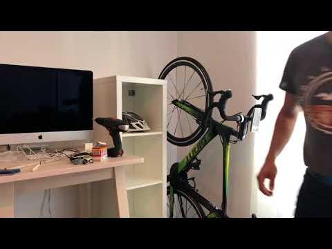 Fahrrad - Wandhalterung - Selbstbau