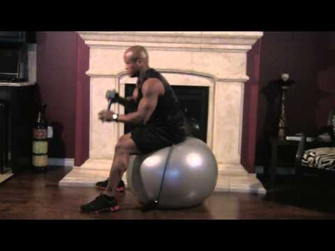 Overhead Tricep Extensions - Stability Ball.m2ts