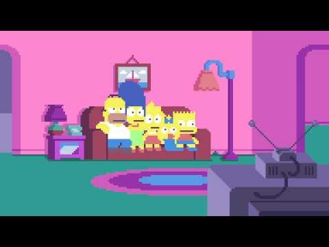 hqdefault - Los Simpsons pixelado al estilo de los videojuegos de 8-bits