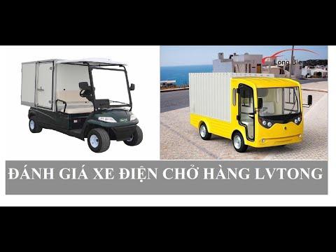 Đánh giá xe điện chở hàng Lvtong