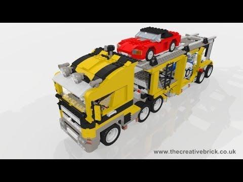 Vidéo LEGO Creator 6753 : Le transport de voitures