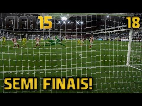 SEMI-FINAIS DA COPA!! - FIFA 15 - Modo Carreira #18