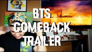 BTS Comeback Trailer Reaction [SUGA WENT IN!]