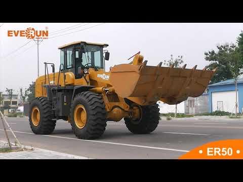 Introducing the Everun ER50 5 tonne wheel loader