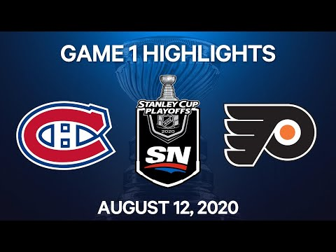NHL Highlights | 1st Round, Game 1: Canadiens vs. Flyers – Aug. 12, 2020