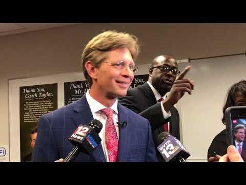 Alabama's new state Superintendent Eric Mackey