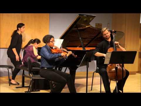 Mendelssohn Piano Trio in D minor, Op.49 2nd mvt-Andante con molto tranquillo...