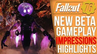 Fallout 76 BETA - My Honest Impressions and Gameplay Highlights