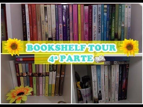 BOOKSHELF TOUR  4ª PARTE    Leticia Ferfer   Livro Livro Meu