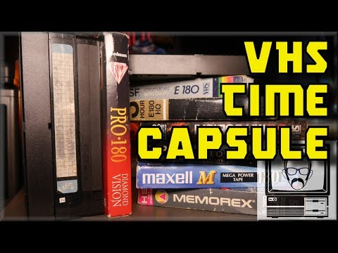 VHS Time Capsules - Looking for Lost 90s Gaming TV | Nostalgia Nerd