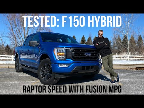 The 2021 Ford F-150 Hybrid Is Faster Than A Raptor And Can Drive In Full EV