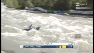 preview picture of video 'Valtellina 2014 - Wild Water World Championship - italian C1 Men Sprint - II qualifying heats'