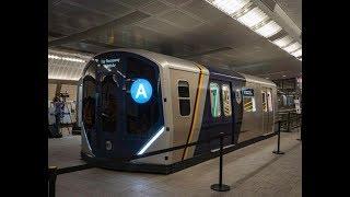 New NYC MTA Subway Train