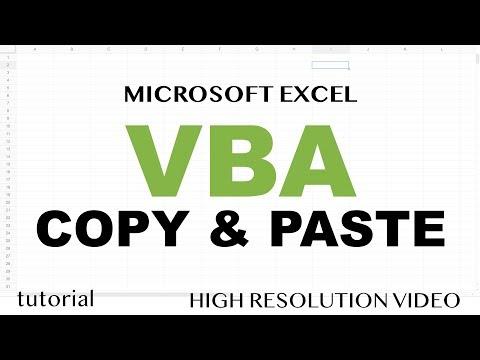 Excel VBA - Copy Paste Data Range From Another Worksheet or Workbook - Part 5