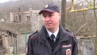 В Сочи сотрудник полиции спас многодетную семью из пожара